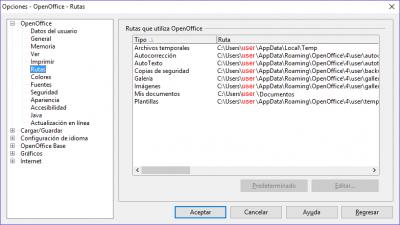 Establecer o conocer la carpeta documentos del usuario con una macro