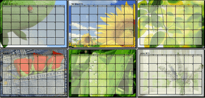 Plantilla Calendario 2013 OpenOffice Writer